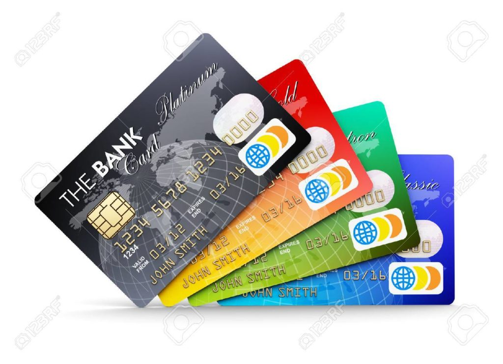 all credit cards sample image