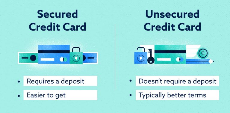 secured-vs-unsecured credit cards