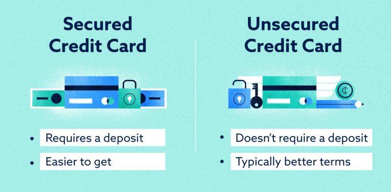 secured-vs-unsecured credit cards