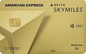 Delta SkyMiles® Gold American Express Card