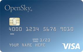 OpenSky Secured Credit Visa Card