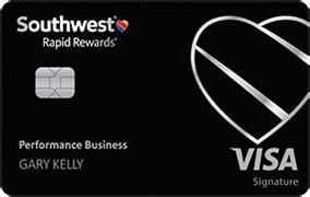 Southwest Rapid Rewards Performance Business Credit Card